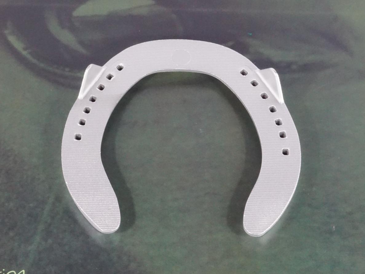 fer a cheval aluminium Topaze TPqb