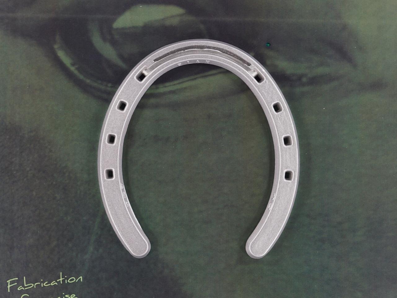 fer à cheval aluminium Elan