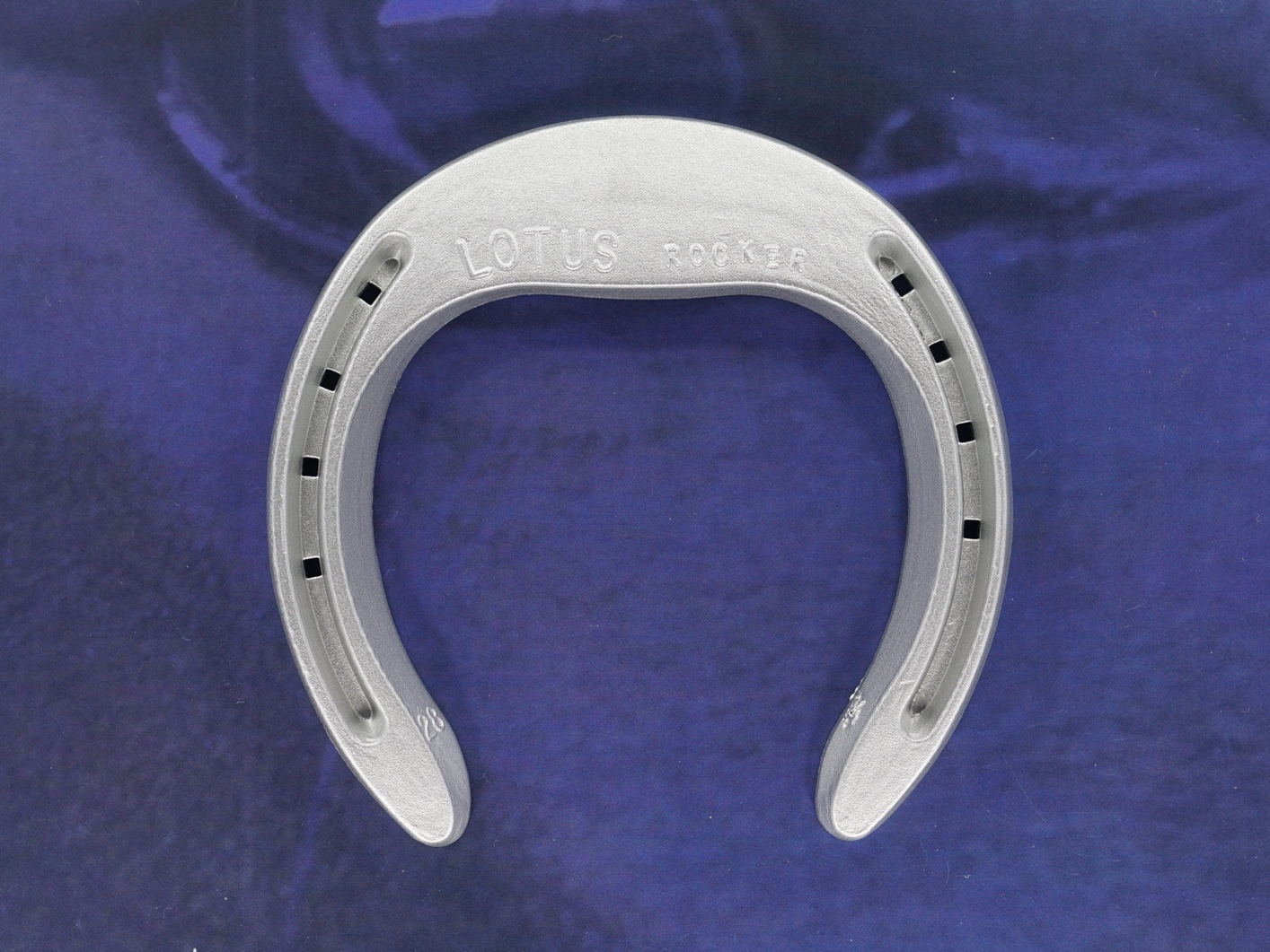 fer à cheval aluminium orthopedique Lotus rocker LRa