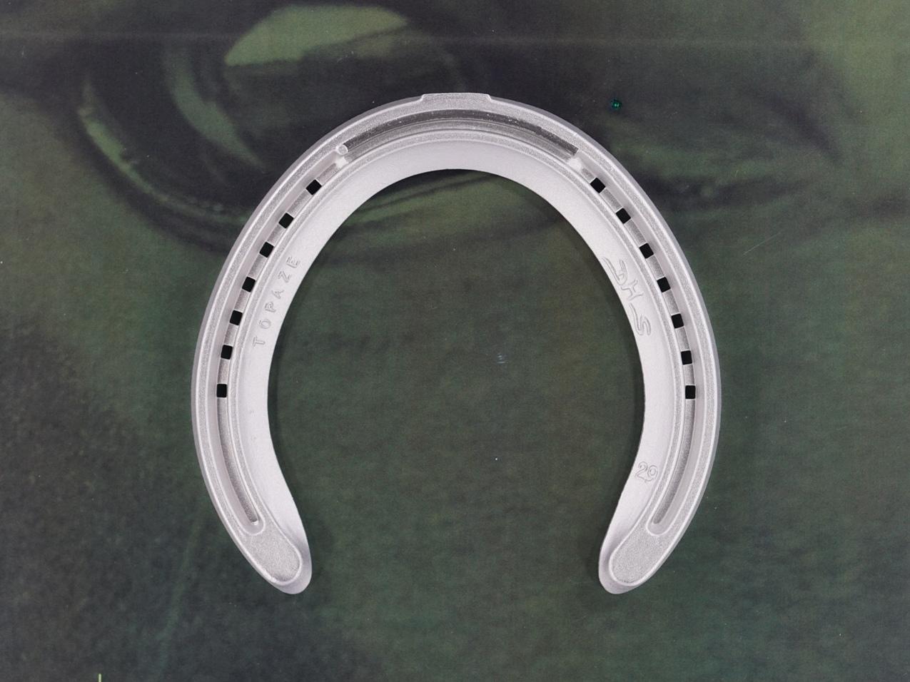 fer a cheval aluminium Topaze TP